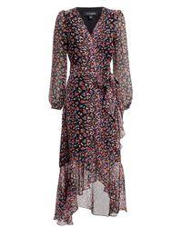 Intermix - Sybil Floral Dress - Lyst