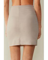 Intimissimi Skirt In Microfiber - Natural