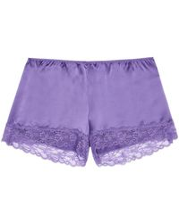 Intimissimi - Silk Shorts - Lyst