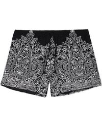 Intimissimi - Pretty Flowers Print Micromodal Shorts - Lyst