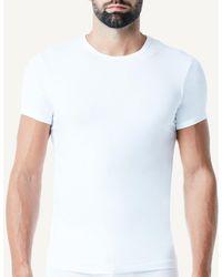 Intimissimi - Microfiber Crew Neck T-shirt - Lyst