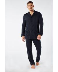 Intimissimi Supima® Cotton Pajamas - Blue