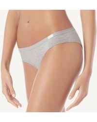 Intimissimi - Natural Cotton Panties - Lyst