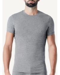 Intimissimi - Stretch Cotton Crew Neck T-shirt - Lyst