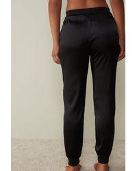 Intimissimi Pantalon en soie - Noir