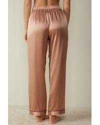 Intimissimi Silk Satin Pajama Pants - Pink