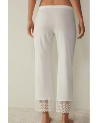 Intimissimi Made In Heaven Pants In Supima® Ultrafresh Cotton - Natural