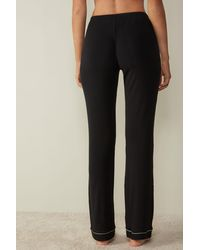 Intimissimi Long Micromodal Pants - Black