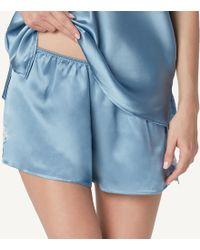 Intimissimi | Primrose Garden Silk Shorts | Lyst