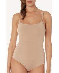 2fa267cb2d93a Intimissimi - Micromodal Constructed Bodysuit - Lyst