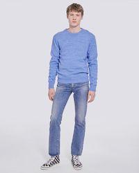 IRO Phoebo Crewneck Soft Sweater - Blue