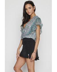 One Teaspoon 2020 Mini Skirt - Black