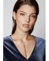 Ivyrevel - Nia Necklace Gold - Lyst