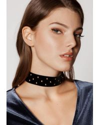 Ivyrevel - Minor Studs Necklace Black - Lyst