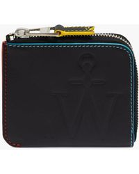JW Anderson Anchor Logo Wallet - Black