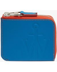 JW Anderson Anchor Logo Wallet - Blue