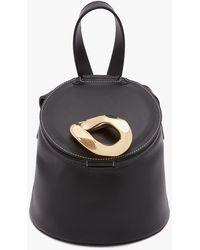 JW Anderson Lid Bucket Bag - Black