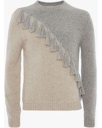JW Anderson - Tassel Details Knitted Jumper - Lyst