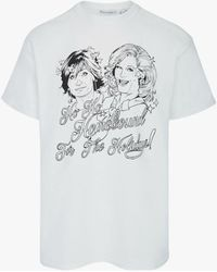 JW Anderson Sandie Stone's Homebound For The Holidays T-shirt In Support Of Akt - White