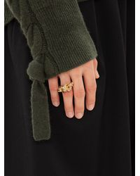 JW Anderson Multi-links Ring - Metallic