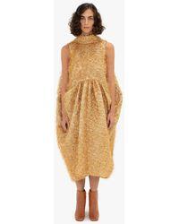 JW Anderson Cocoon Dress - Metallic