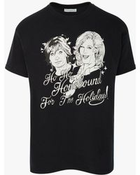 JW Anderson Sandie Stone's Homebound For The Holidays T-shirt In Support Of Akt - Black