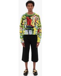JW Anderson Tailored Cropped Pants - Black