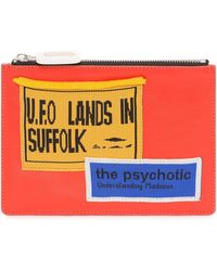 JW Anderson Pouch With Patches - Multicolor
