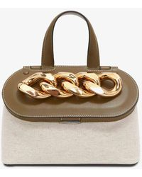 JW Anderson Small Chain Lid Bag - Multicolor