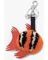 JW Anderson Fish Bag Charm - Orange
