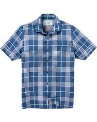 Original Penguin - Plaid Linen Shirt - Lyst