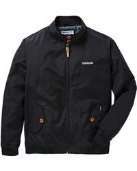 Lambretta - Black Harrington Jacket Reg - Lyst