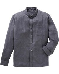 French Connection - Ls Flannel Shirt - Lyst