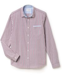 Lacoste - Mighty Check Shirt - Lyst