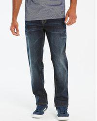 Lambretta - Recharge Dark Wash Jeans 33in - Lyst