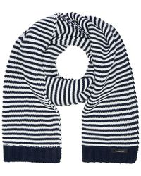 Jack & Jones Winter Sjaal - Blauw