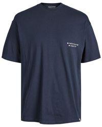 Jack & Jones Logo T-shirt - Blauw
