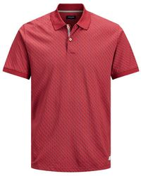 Jack & Jones - Regular Fit All-over Print Polo - Lyst