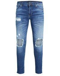 Jack & Jones Liam Original 055 50sps Skinny Fit Jeans - Blau