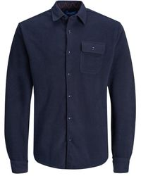 Jack & Jones - Fleece Overshirt - Lyst