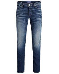 Jack & Jones Glenn Original Jos 206 Pcw 50sps Slim Fit Jeans - Blauw