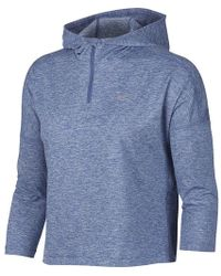 7a25c17335e5 Lyst - Nike Dry Element Running Hoodie in Blue for Men