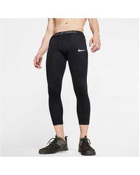 Nike Pro 3/4 Tights - Black