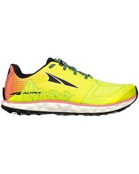 Altra Superior 4.0 Trail Running Shoe - Yellow