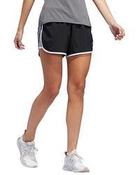 "On Adidas 3"" Marath 20 Shorts Availability: In Stock $29.95 - Black"