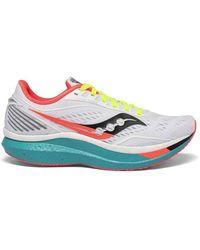 Saucony Endorphin Speed Running Shoe - White