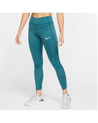 Nike Epic Lux Running Tights - Blue