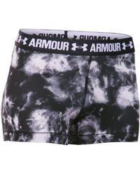 On - Women's Under Armour Heatgear Armour Print 3 Inch Compressi - Lyst