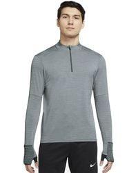 Nike Therma-fit Repel Element 1/2 Zip Running Top - Gray