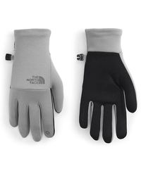 The North Face The Etip Recycled Gloves - Gray
